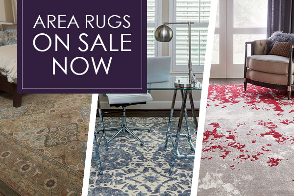 Area Rugs on Sale this month only!