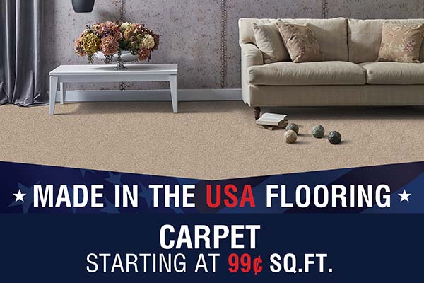 CARPET STARTING AT 99¢ SQ. FT.