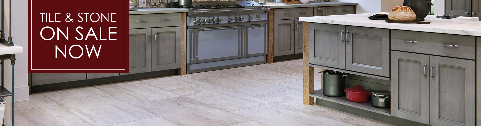 Tile and Stone on Sale this month only!