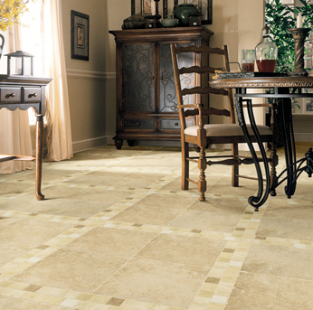 American Showcase tile flooring