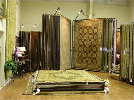 Knoxville area rug store