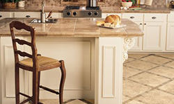 Kitchen porcelain tile