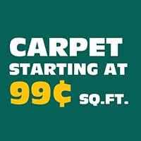 CARPET STARTING AT  99¢